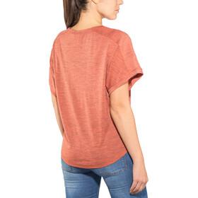super.natural Motion Peyto - Camiseta manga corta Mujer - naranja